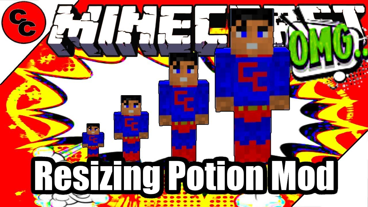 Resizing Potion - Mods - Minecraft - CurseForge