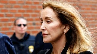 Felicity Huffman sentenced to 14 days in prison in U.S. college scandal