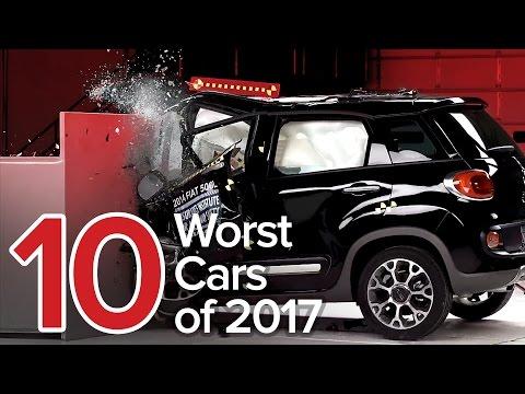 10 Worst Cars of 2017: The Short List
