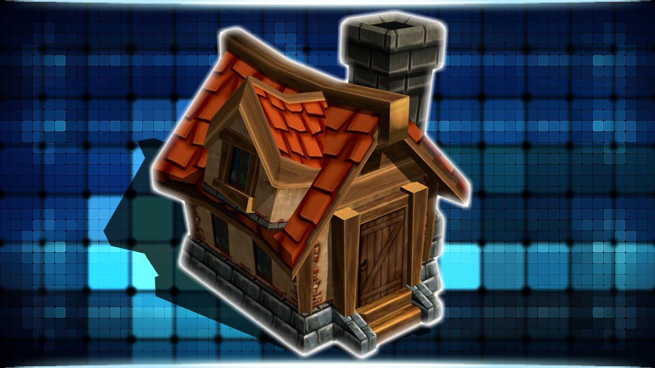 Blender 3d house modeling