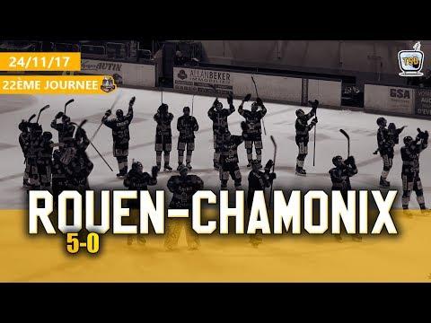 Hockey : Rouen - Chamonix Ligue Magnus 2017/2018 J22