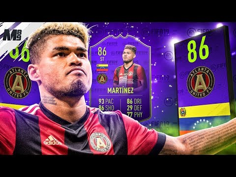 FIFA 19 MLS MVP MARTINEZ REVIEW   86 MLS MVP MARTINEZ PLAYER REVIEW   FIFA 19 ULTIMATE TEAM
