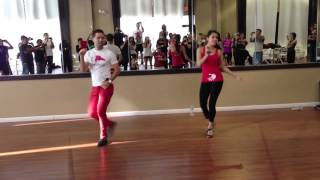 Beginner Dominican Bachata Footwork & Partnerwork - Tiguere & Dani D