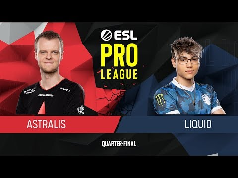 CS:GO - Liquid Vs. Astralis [Inferno] Map 2 - Quarter-Final - ESL Pro League Season 9