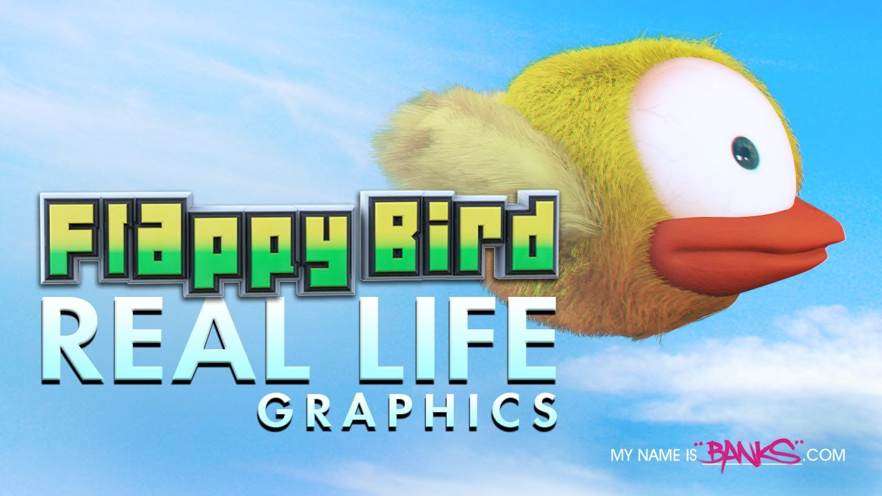 Flappy Bird Real Life Graphics YouTube - Flappy bird in real life