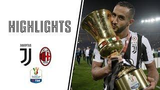 Highlights: Juventus Vs Ac Milan 4 0   Tim Cup Final   09.05.2018