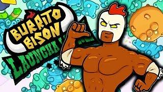 Darmowe Gry Online - Burrito Bison: Launcha Libre - EL POLLO