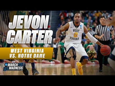 West Virginia's Jevon Carter scores 24, leads Mountaineers to Sweet 16