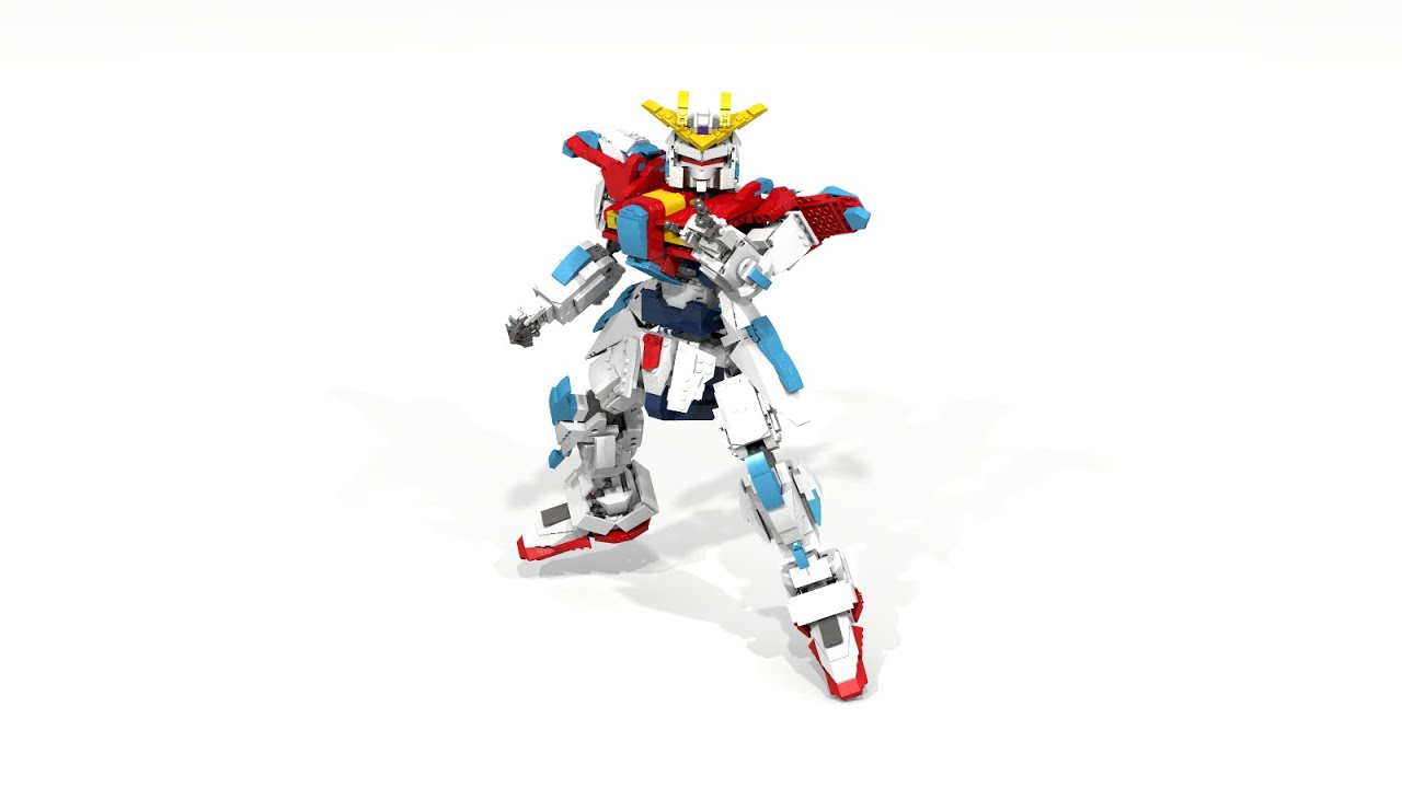 Lego Gundam Build Fighters Try Burning Youtube