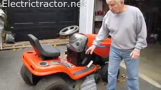 FARM SHOW  - How To Convert A Gas Lawn Tractor To Be Electric Powered