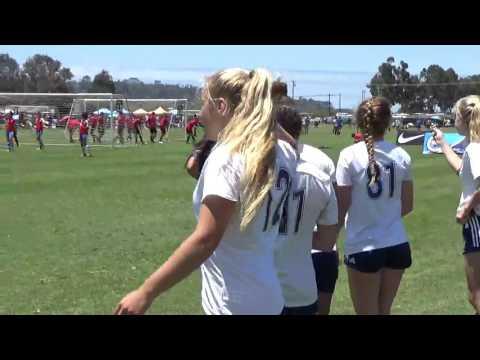 Rangers red-01' vs LA Galaxy Conejo Valley Part 2