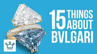 15 Things You Didn't Know About BVLGARI - Видео от Alux.com