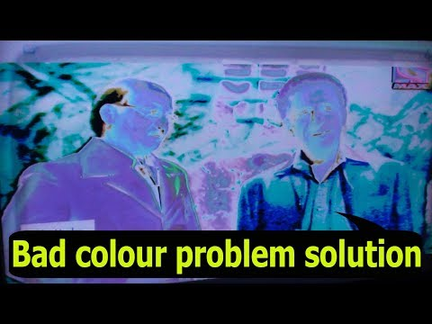 Sony LCD TV Bad Color Problem Solution.#Pro Hack