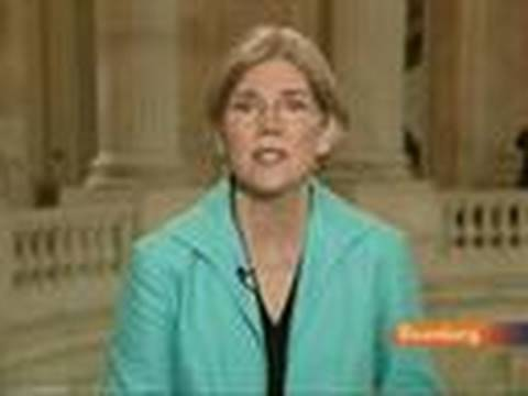 Warren Says TARP Worked for Wall Street, Not Small Banks: Video