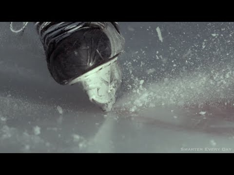 COLD HARD SCIENCE.The Physics of Skating on Ice (With SlowMo) - Smarter Every Day 110