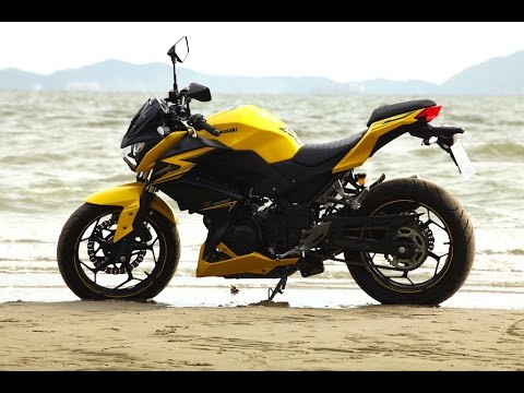 [Test Ride] 2015 Kawasaki Z300 ABS : ขี่ทดสอบ คาวาซากิ แซด300 เอบีเอส