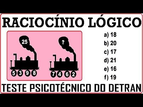 Raciocínio Lógico Figura Imagem Teste psicotécnico QI Quociente de Inteligência Detran Concurso RLM from YouTube · Duration:  2 minutes 28 seconds