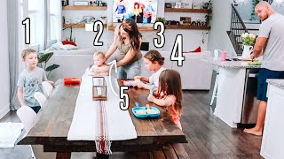 DAY IN THE LIFE WITH 4 KIDS & PREGNANT!