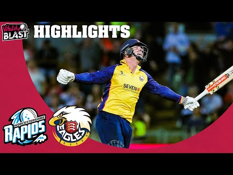 Essex Beat Rapids in Final-Ball Thriller! | FINAL | Worcestershire v Essex | Vitality Blast 2019