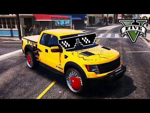 GTA 5 Thug Life   Баги, Приколы, Фейлы, Трюки, Эпичные Моменты #61