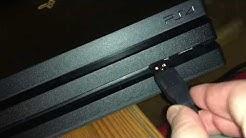 Sony PlayStation 4 Pro - Konsole (1TB, B-Chassis) anschließen und einrichten Anleitung