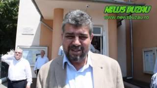 NEWS BUZAU -  Deputatul PSD Marcel Ciolacu voteaza   05 06 2016