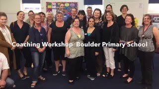 Coaching Workshop Boulder Primary School