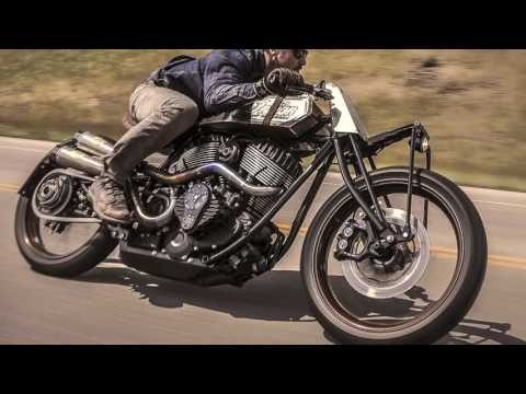 Cafe Racer Indian Chieftain by Roland Sands