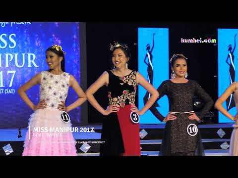 Miss Manipur 2017 Top 10 Finalist Question and Answer Round