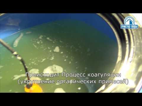 Система очистки воды из колодца с накопительными емкостями и титановой мембраной