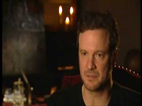 Colin Firth on Portraying a Painter/'Girl with a Pearl Earring' on the Set Interview
