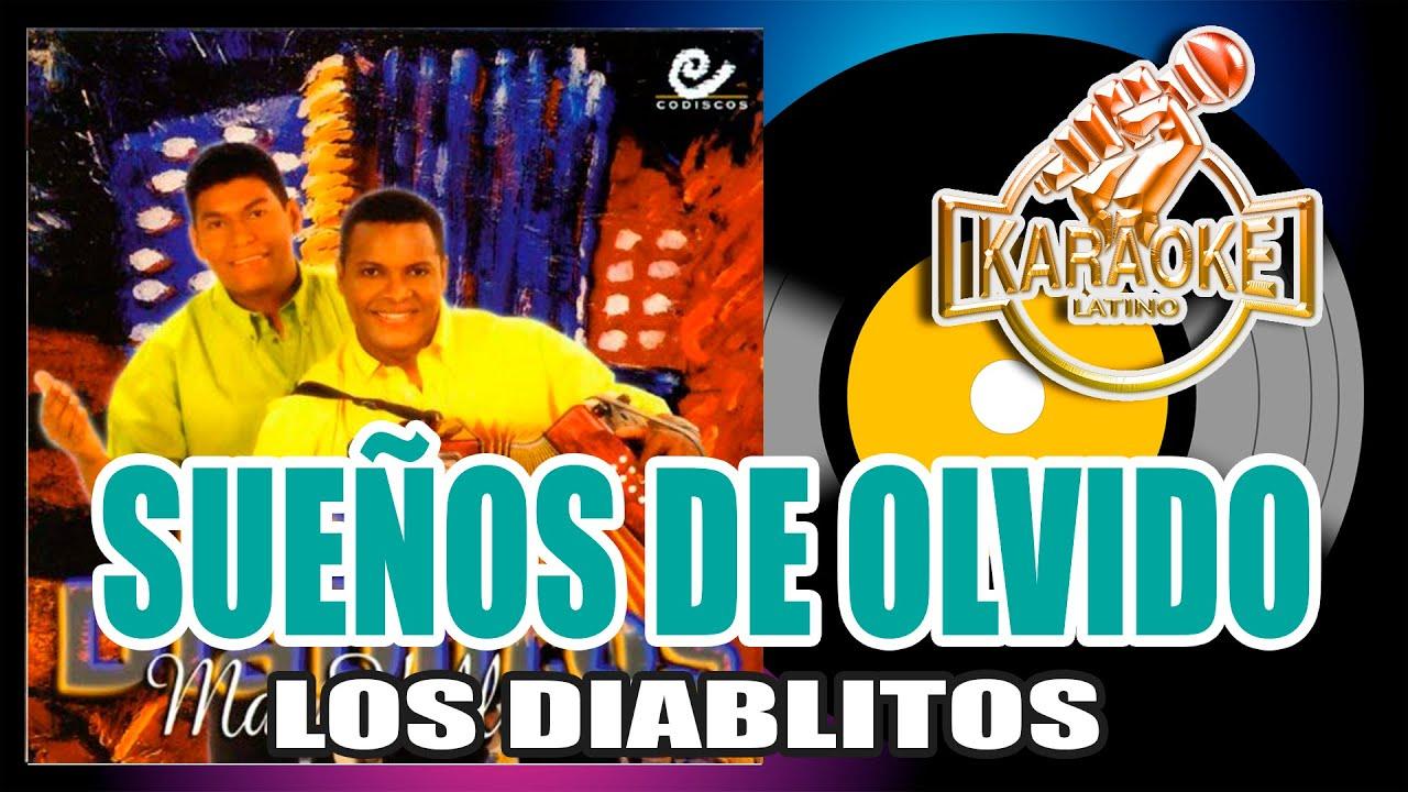 SUEÑOS DE OLVIDO - Los Diablitos del Vallenato (Karaoke Vallenato)🔴 DEMO
