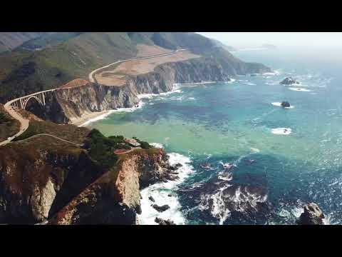 Big Sur Coast by Drone