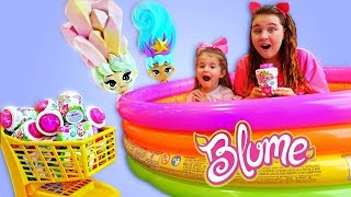 Ruby & Bonnie Pretend Play Happy Birthday Surprise with Blume Dolls