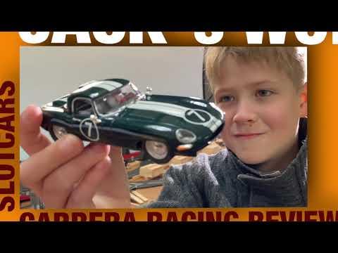 SLOTCARS Ninco – Sport Jaguar E-Type UNBOXING