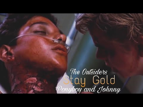 Ponyboy And Johnny Stay Gold The Outsiders Youtube It would be easy for ponyboy to succumb to the hardness and anger, so often felt by the other boys in the gang. ponyboy and johnny stay gold the outsiders