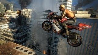 Superbike Stunt Insanity - Motorstorm Apocalypse