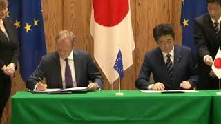 UE- Giappone: libero scambio e molto altro