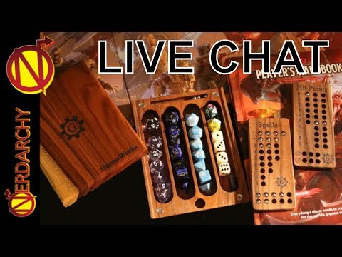What do You Bring to the Table with Gnome Works Dice Boxes- Nerdarchy Live Chat #154