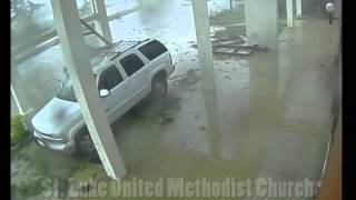 Repeat youtube video Tornado Security Camera Footage. Outside front