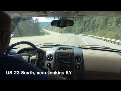The Kentucky Mountains Tour: US 23 South near Jenkins KY