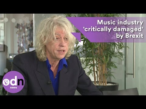 Music industry will be 'critically damaged' by Brexit, says Bob Geldof Mp3