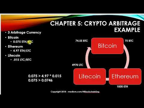 how to cryptocurrency arbitrage