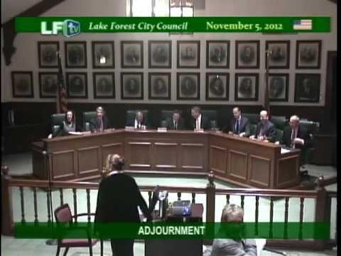 LF City Council  11-5-12