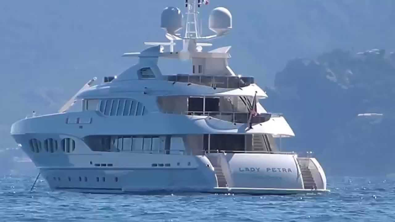 FRANS HEESEN]: See his US$ 30,000,000 LADY PETRA Yacht (Odyssea)