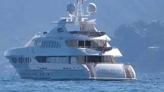 Motor Yacht Lady Petra, owned by Frans Heesen