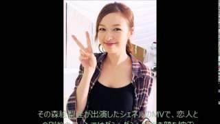 「いまなりたい顔No.1」として人気を集めるモデル、森絵梨佳が出演した...