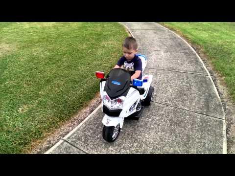 Rovo kids patrol motorbike