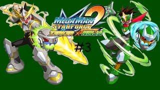 MegaMan Star Force 2 - Zerker x Ninja Gameplay\Walkthrough Part 3