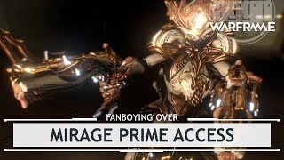 Warframe: Fanboying Over Mirage Prime Access + Primed Weapon Tests!